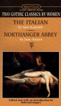 Omnibus: Two Gothic Classics by Women: The Italian; Northanger Abbey - Ann Radcliffe, Deborah Rogers, Jane Austen