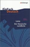 EinFach Deutsch Textausgaben: Georg Büchner: Lenz. Der Hessische Landbote: Gymnasiale Oberstufe - 'Georg Büchner',  'Roland Kroemer'