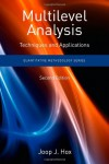 Multilevel Analysis: Techniques and Applications (Quantitative Methodology Series) - Joop J. Hox
