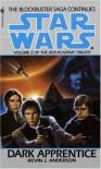 Dark Apprentice (Star Wars: The Jedi Academy Trilogy, Vol. 2) - Kevin J. Anderson