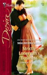 Strictly Lonergan's Business (Summer of Secrets, #2) - Maureen Child