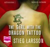The Girl with the Dragon Tattoo (unabridged audio book) - 'Stieg Larsson',  'narrated by Saul Reichlin'