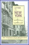 Letter from New York: BBC Women's Hour Broadcasts - Helene Hanff