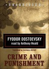Crime and Punishment (Classic Collection (Blackstone Audio)) - Fyodor Dostoyevsky, Anthony Heald