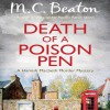Death of a Poison Pen - M.C. Beaton, David Monteath