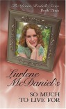 So Much to Live for - Lurlene McDaniel