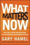 What Matters Now: How to Win in a World of Relentless Change, Ferocious Competition, and Unstoppable Innovation - Gary Hamel