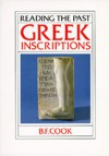 Greek Inscriptions - B.F. Cook