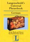 Langenscheidt's Universal Phrasebook German - Langenscheidt