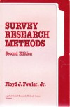 Survey Research Methods - Floyd J. Fowler Jr.