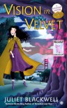 A Vision in Velvet - Juliet Blackwell