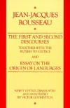 The First and Second Discourses Together with the Replies to Critics and Essay on the Origin of Languages - Jean-Jacques Rousseau, Victor Gourevitch