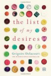 The List of My Desires - Grégoire Delacourt