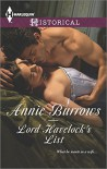 Lord Havelock's List (Harlequin Historical) - Annie Burrows