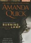 Burning Lamp (Arcane Society, #8) (Dreamlight Trilogy #2) - Anne Flosnik, Amanda Quick