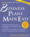 Business Plans Made Easy, 3/e (Entrepreneur Made Easy Series) - Jr.,  David H. Bangs