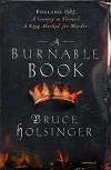 A Burnable Book - Bruce Holsinger