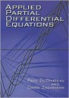 Applied Partial Differential Equations - Paul DuChateau, David Zachmann