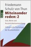 Miteinander reden, 3 Bde., Bd. 2 - Friedemann Schulz von Thun