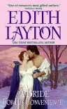 A Bride for His Convenience - Edith Layton