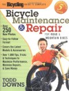 The Bicycling Guide to Complete Bicycle Maintenance and Repair: For Road and Mountain Bikes - Todd Downs