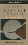 The Columbia Anthology of Modern Japanese Literature: Volume 2: From 1945 to the Present - J. Thomas Rimer