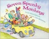 Seven Spunky Monkeys - Jackie French Koller,  Lynn Munsinger (Illustrator)