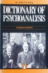 A Critical Dictionary of Psychoanalysis (Penguin reference books) - CHARLES RYCROFT