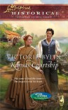 Kansas Courtship (After the Storm: The Founding Years) (Love Inspired Historical) - Victoria Bylin