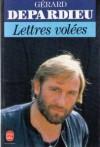 Lettres volées - Gérard Depardieu