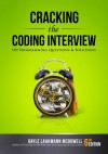 Cracking the Coding Interview, 6th Edition: 189 Programming Questions and Solutions - Gayle Laakmann McDowell