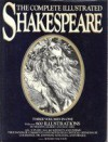 The Complete Illustrated Shakespeare - Three Volumes In One - Sir John Gilbert and Ray Abel