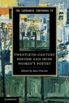 The Cambridge Companion to Twentieth-Century British and Irish Women's Poetry - Jane Dowson