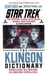 St Klingon Dictionary - Marc Okrand