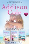 Sweet with Heat: Seaside Summers, Contemporary Romance Boxed Set, Books 1-3 - Addison Cole