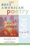 The Best American Poetry 1996 - Adrienne Rich, David Lehman