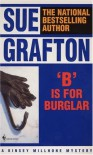 'B' is for Burglar - Sue Grafton