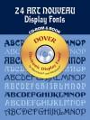 24 Art Nouveau Display Fonts CD-ROM - Dan X. Solo