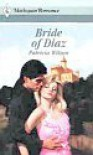 Bride Of Diaz - Patricia Wilson