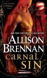 Carnal Sin (Seven Deadly Sins) - Allison Brennan