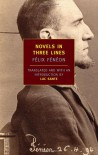Novels in Three Lines - Félix Fénéon, Luc Sante