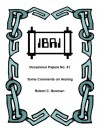 Some Comments on Healing (IBRI Occasional Papers Book 41) - Robert C. Newman