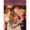 Never Love a Highlander  - Maya Banks, Kirsten Potter