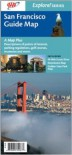 San Francisco Guide Map (Explore! Series) - NOT A BOOK, California State Automobile Association