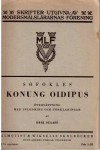Konung Oidipus - Sofokles, Erik Staaff