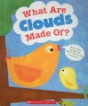 What Are Clouds Made Of? And Other Questions About The World Around Us - Geraldine Taylor, Amy Schimler