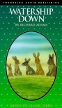 Watership Down/Audio Cassettes (Audio csst ed) - Richard Adams