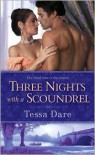 Three Nights with a Scoundrel (Stud Club, # 3) - Tessa Dare