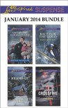 Love Inspired Suspense January 2014 Bundle: Safe by the Marshal's SideFrame-UpRace for the GoldCrossfire - Shirlee McCoy, Jill Elizabeth Nelson, Dana Mentink, Jodie Bailey