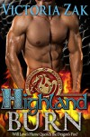 Highland Burn (Guardians of Scotland Book 1) - Victoria Zak